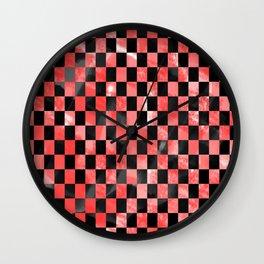 Black & Red Wall Clock