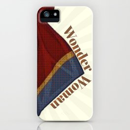 Woman of Wonder iPhone Case
