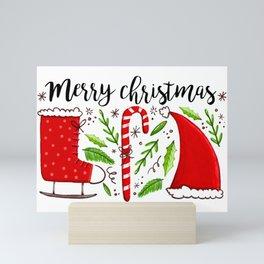 Merry Christmas (Favorite Things) Mini Art Print