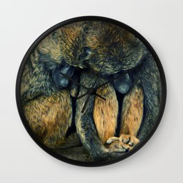 Stay together Wall Clock