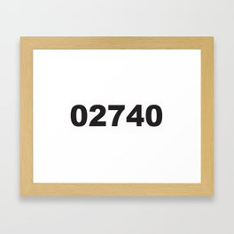 02740 Framed Art Print