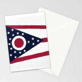 Ohio State Flag Stationery Cards