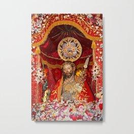 Senhor Santo Cristo dos Milagres Metal Print