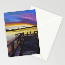 Shelley Bridge Sunset Stationery Cards