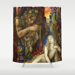 "Gustave Moreau ""Galatea"" (1896) Shower Curtain"