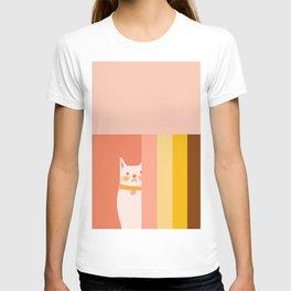 Little_CUTE_CAT_LOVE_BAUHAUS_POP_ART_Minimalism_001CC T-shirt