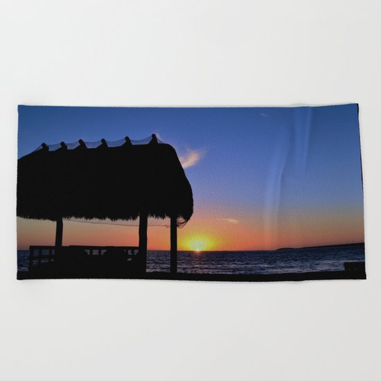 Florida Keys Sunset Beach Towel