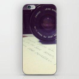 die Filmkamera iPhone Skin