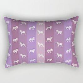 Zebra Pattern Rectangular Pillow