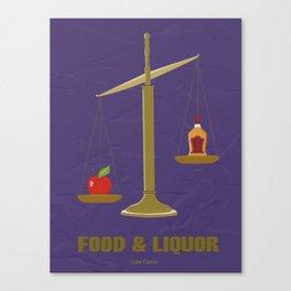 Lupe Fiasco - Food and Liquor Canvas Print