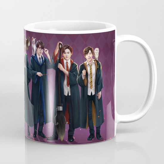 Infinite goes to Hogwarts Coffee Mug