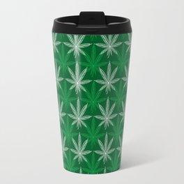 Green Pattern Travel Mug