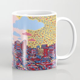 austin texas city skyline Coffee Mug