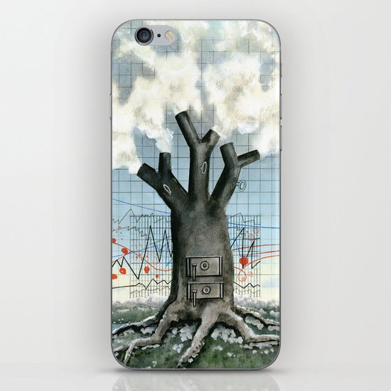 Wood fire iPhone & iPod Skin