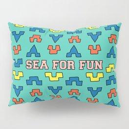Sea for fun (green) Pillow Sham