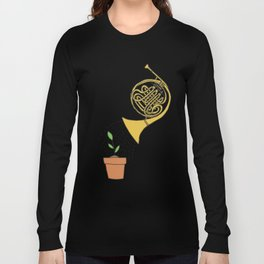 Watering Horn Long Sleeve T-shirt