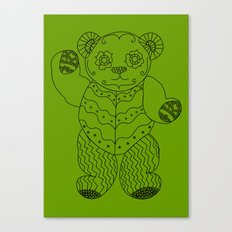 Bear of the Day Canvas Print