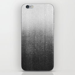 BLUR / abyss / black iPhone Skin