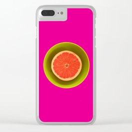 Still life with grapefruit Clear iPhone Case
