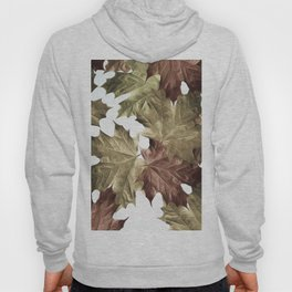 Faded Autumn Leaves Hoody