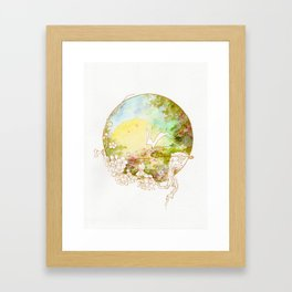 The Jade Rabbit Framed Art Print