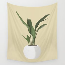 Potted Plant Wall Tapestry