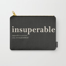 Insuperable Carry-All Pouch