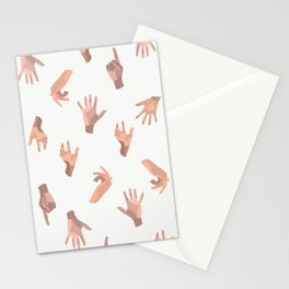 Touching Hands Stationery Cards