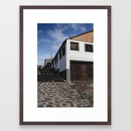 Old Whaling Dock Framed Art Print