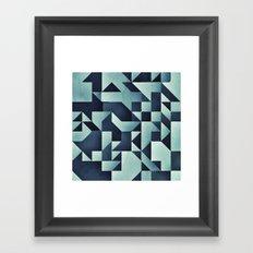 :: geometric maze V :: Framed Art Print