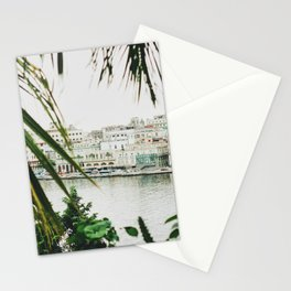 Peaking through Palms Stationery Cards