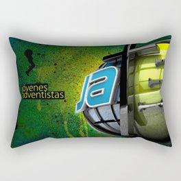 JA street art Rectangular Pillow