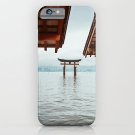 Itsukushima Shrine. Torii gate. Miyajima, Japan. Travel print - Photography wall art. Art print. iPhone Case