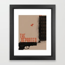 The Departed Framed Art Print