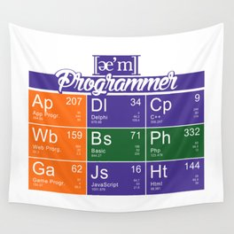 ae'm Programmer Wall Tapestry