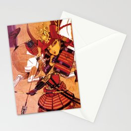 An Arrow is Drawn Stationery Cards