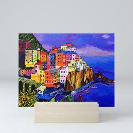 Manarola Cinque Terre Mini Art Print
