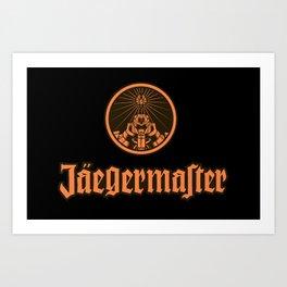 Jaeger Master Art Print