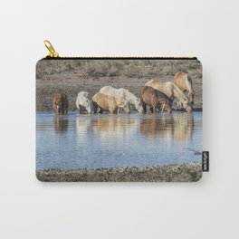Bachelor Band at the Waterhole Carry-All Pouch