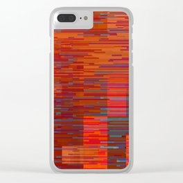 serious digital Clear iPhone Case