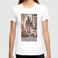 2001 T-shirts featuring 2001 by Joe Badon
