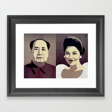 Dictators in Love: When Mao Met Imelda Framed Art Print