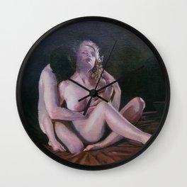 Desnudo/Nu/Nude Wall Clock