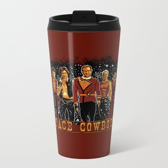 Space Cowboys Metal Travel Mug