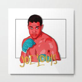 Joe Louis Metal Print