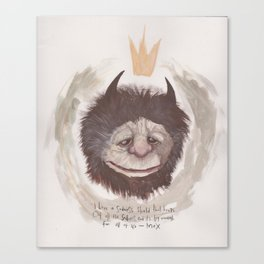 wild thing Canvas Print