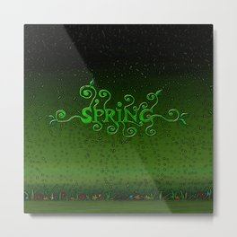 Spring every day Metal Print