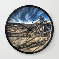 tangled Wall Clocks featuring Tangled by Kent Moody