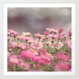 Dreaming of Flowers Art Print
