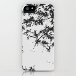 Leaves and trees iPhone Case